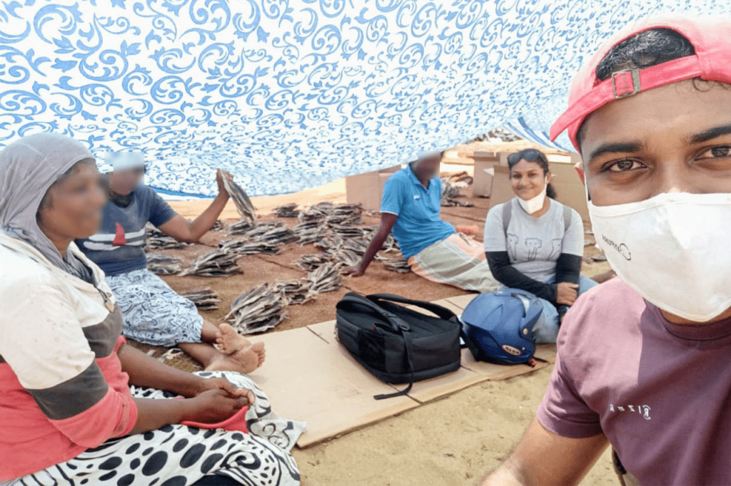 Kaushalya and Manuja had a conversation with tuna processors in Negombo